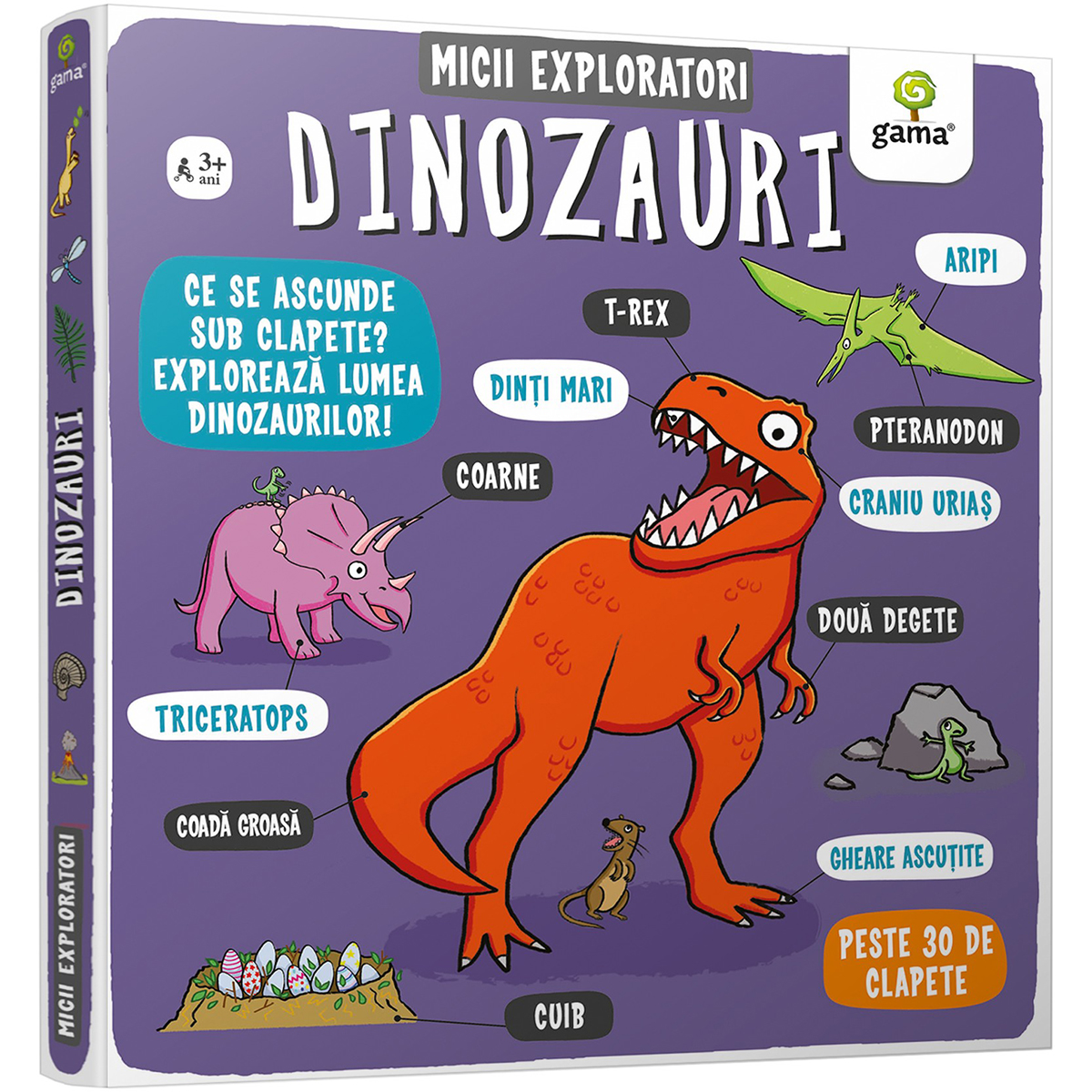 Carte Editura Gama, Micii exploratori, Dinozauri