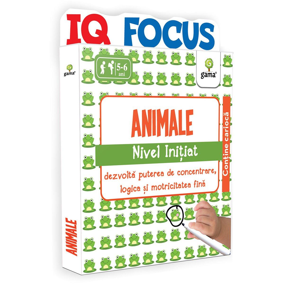 Editura Gama, Animale, Nivel Initiat
