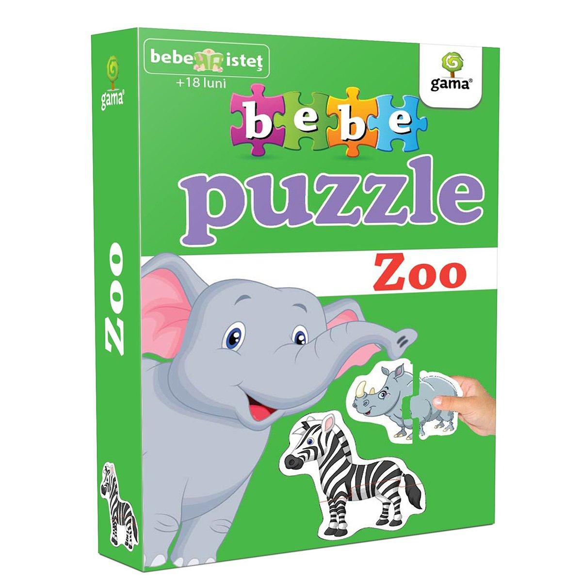 Editura Gama, Bebe Puzzle, Zoo
