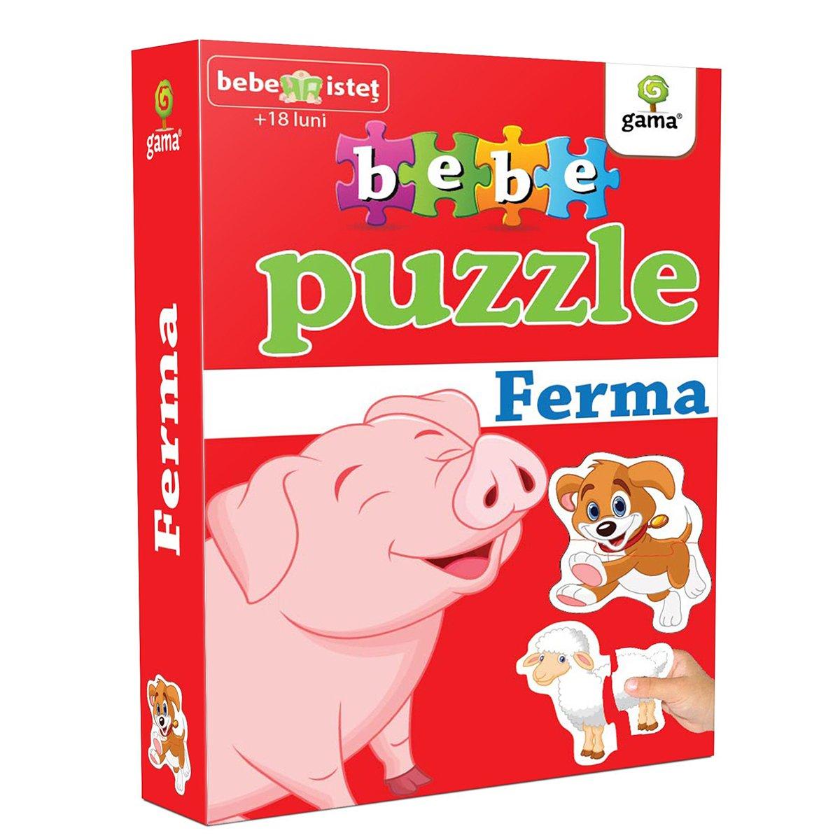 Editura Gama, Bebe Puzzle, Ferma