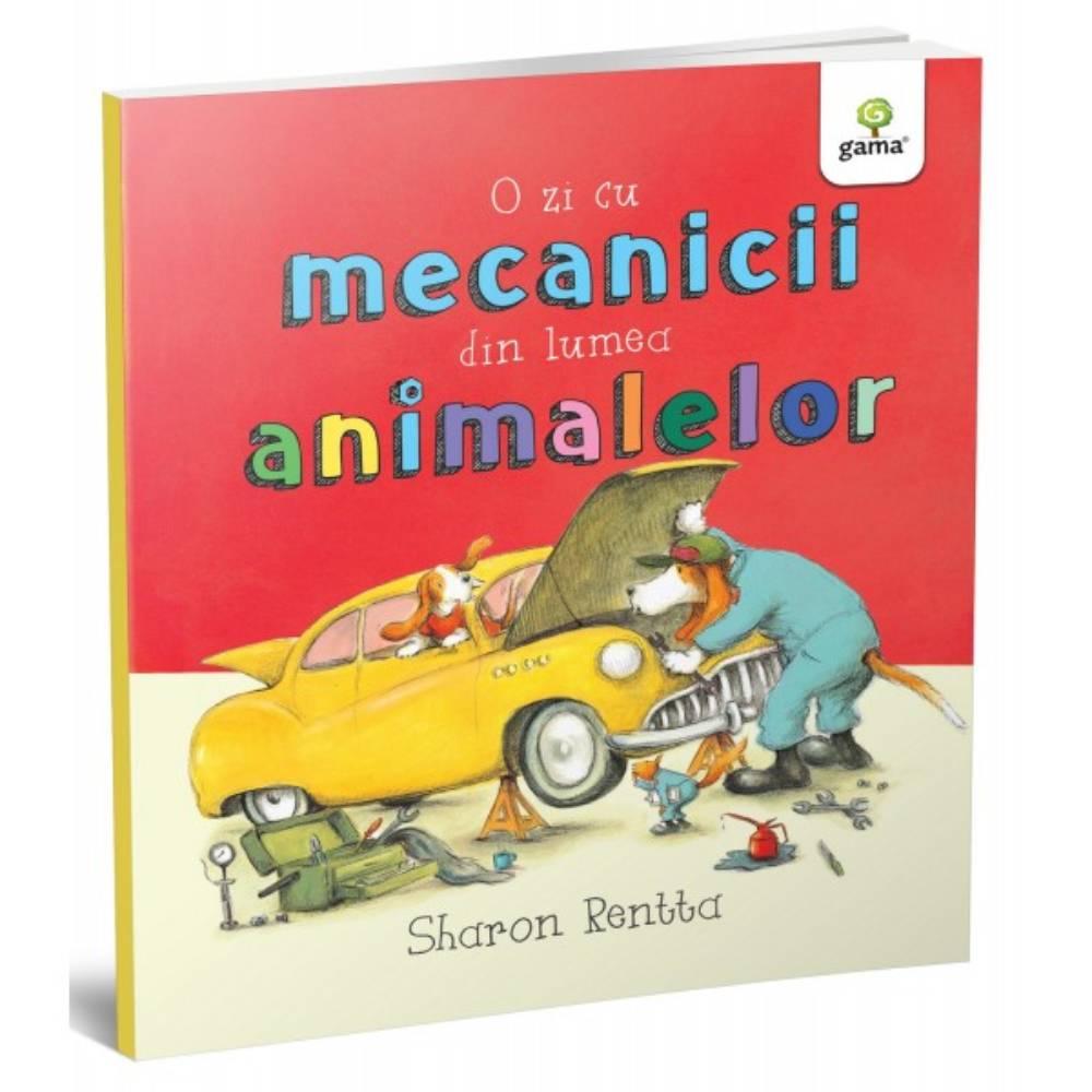 O zi cu mecanicii din lumea animalelor, Sharon Rentta