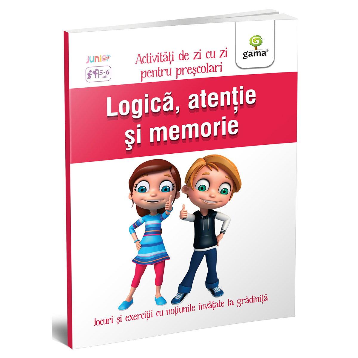 Carte Editura Gama, Logica, atentie si memorie 5-6 ani, Activitati de zi cu zi
