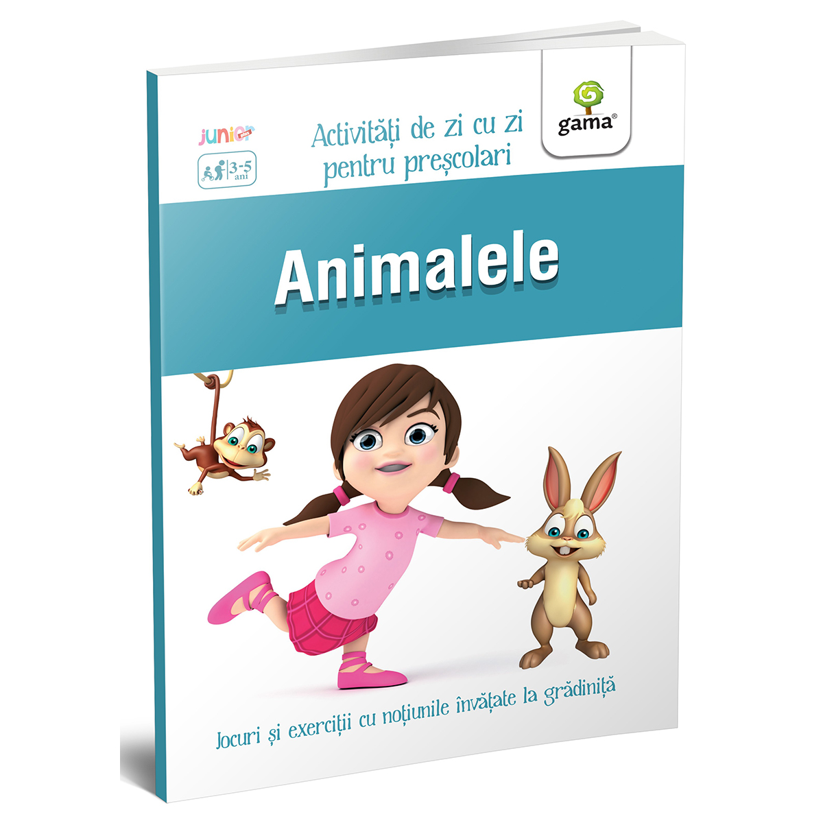 Carte Editura Gama, Animalele 3-5 ani, Activitati de zi cu zi imagine