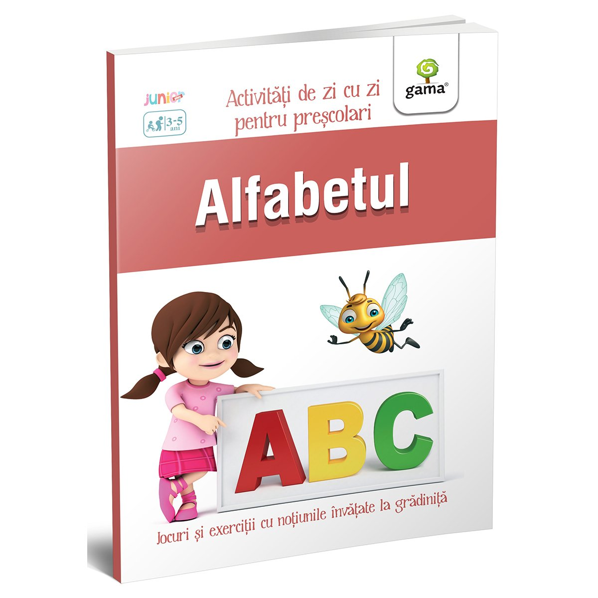 Carte Editura Gama, Alfabetul 3-5 ani, Activitati de zi cu zi imagine