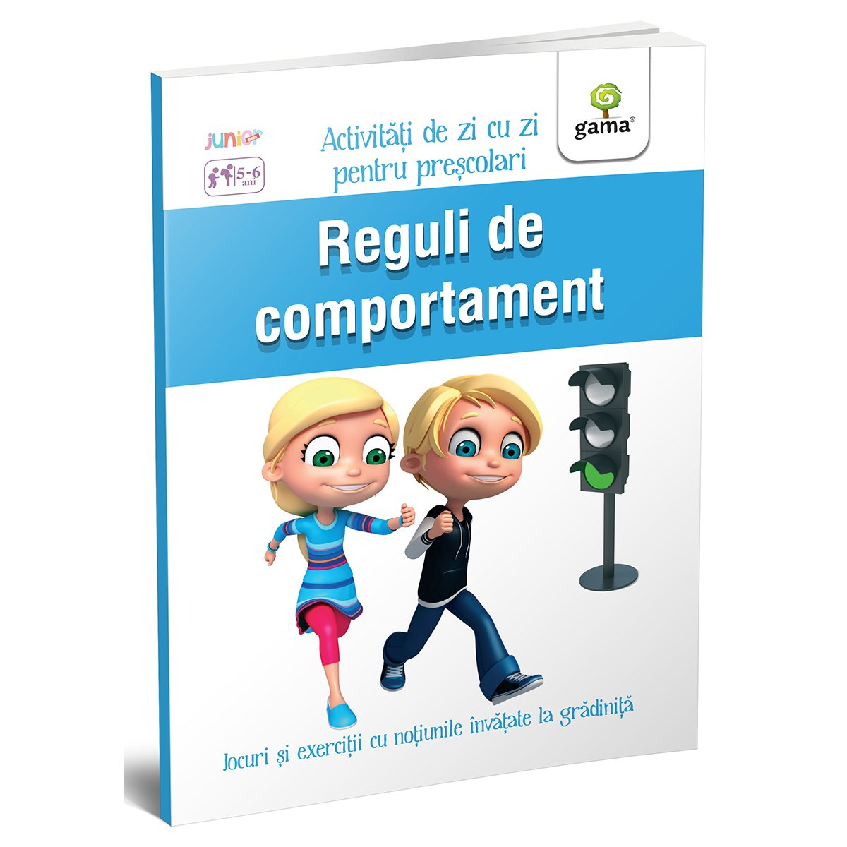 Carte Editura Gama, Reguli de comportament 5-6 ani, Activitati de zi cu zi