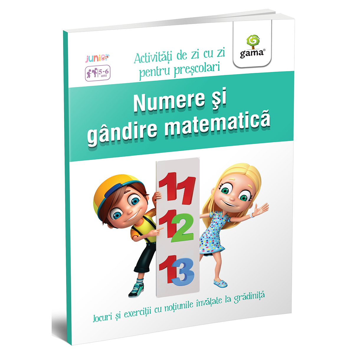 Carte Editura Gama, Numere si gandire matematica 5-6 ani, Activitati de zi cu zi
