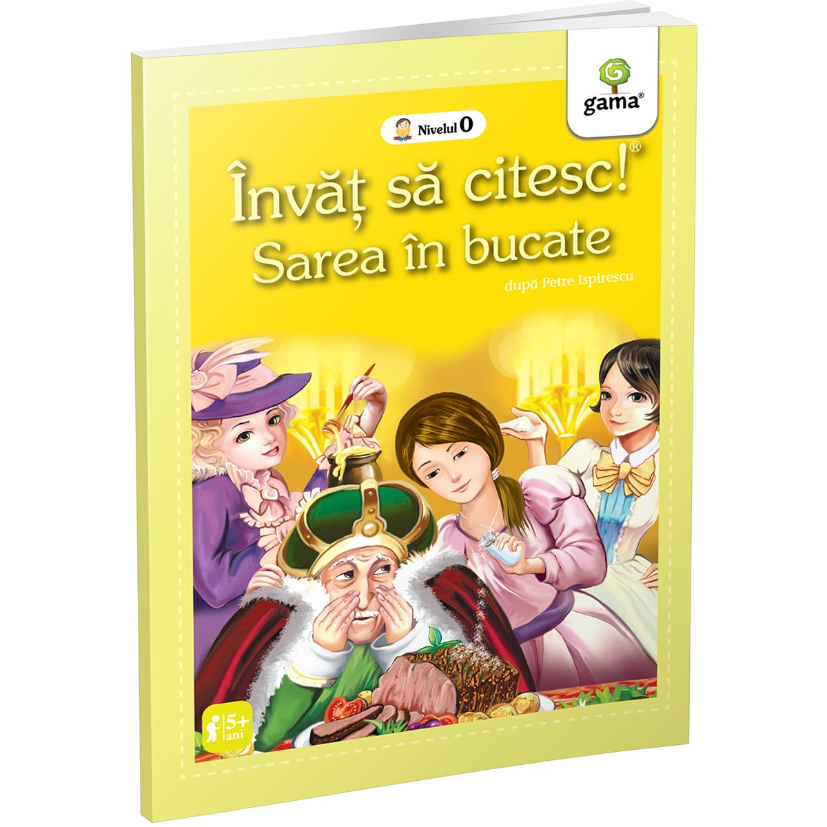 Carte Editura Gama, Sarea in bucate, Invat sa citesc! Nivelul 0