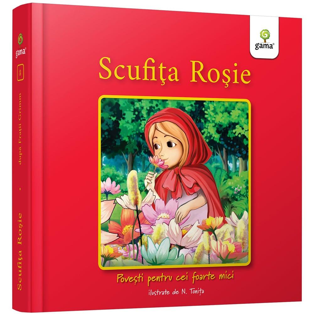 Povesti pentru cei foarte mici, Scufita rosie