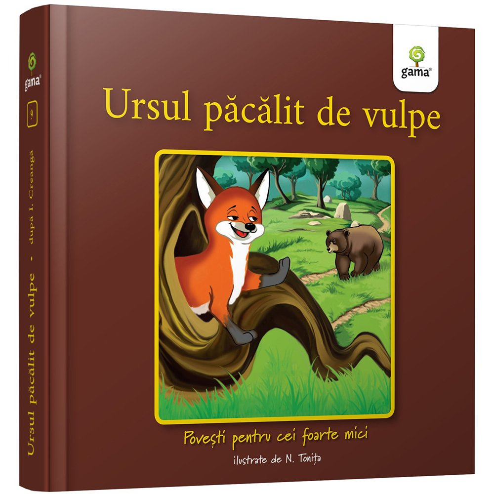 Povesti pentru cei foarte mici, Ursul pacalit de vulpe