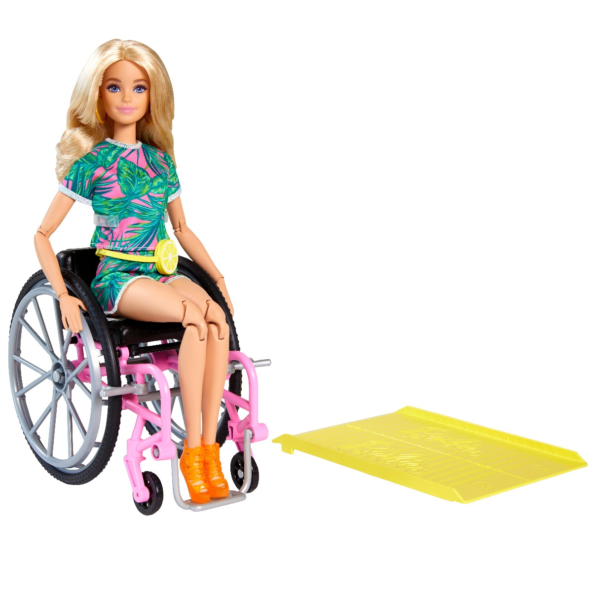 Papusa Barbie Fashionistas in scaun cu rotile, 165