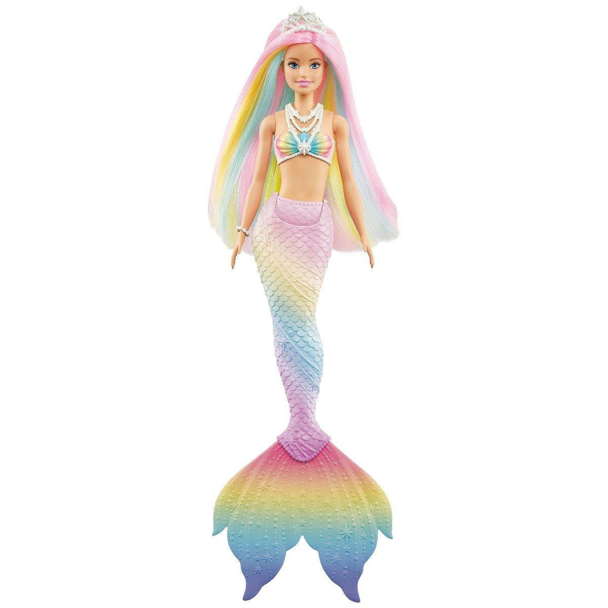 Papusa Barbie Dreamtopia Color Change, Sirena