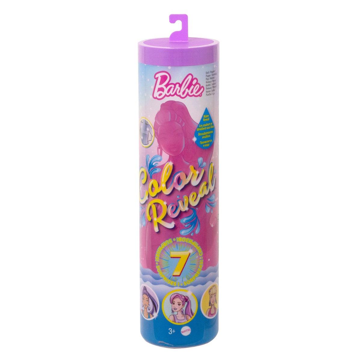 Papusa surpriza Barbie Color Reveal, Tinute stralucitoare