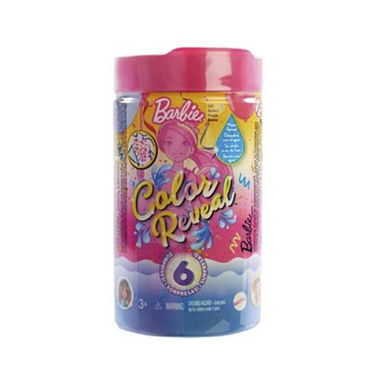 Papusa surpriza, Barbie, Color Reveal Party set Chelsea