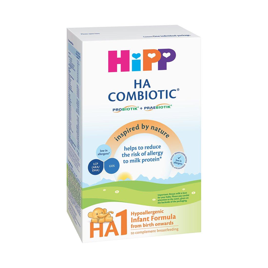 Lapte praf Hipp Combiotic HA 1, 350 g, luni 0+ imagine