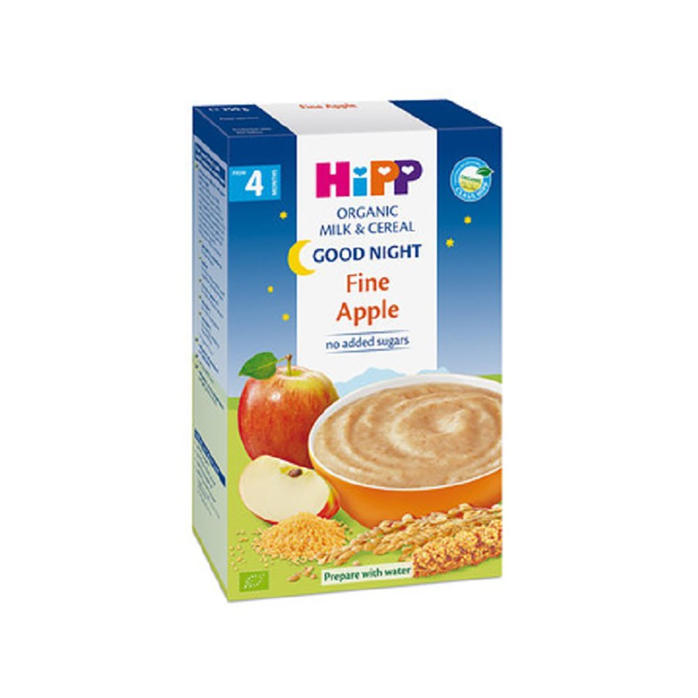Cereale cu mar Hipp Noapte buna, 250 g, 4 luni+ imagine