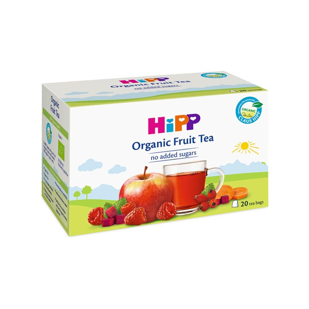 Ceai organic de fructe pentru bebelusi Hipp, 40 g imagine