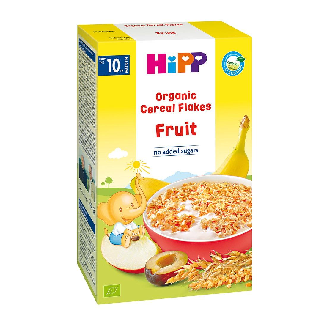 Fulgi de cereale ecologice Hipp - Fructe 200g imagine