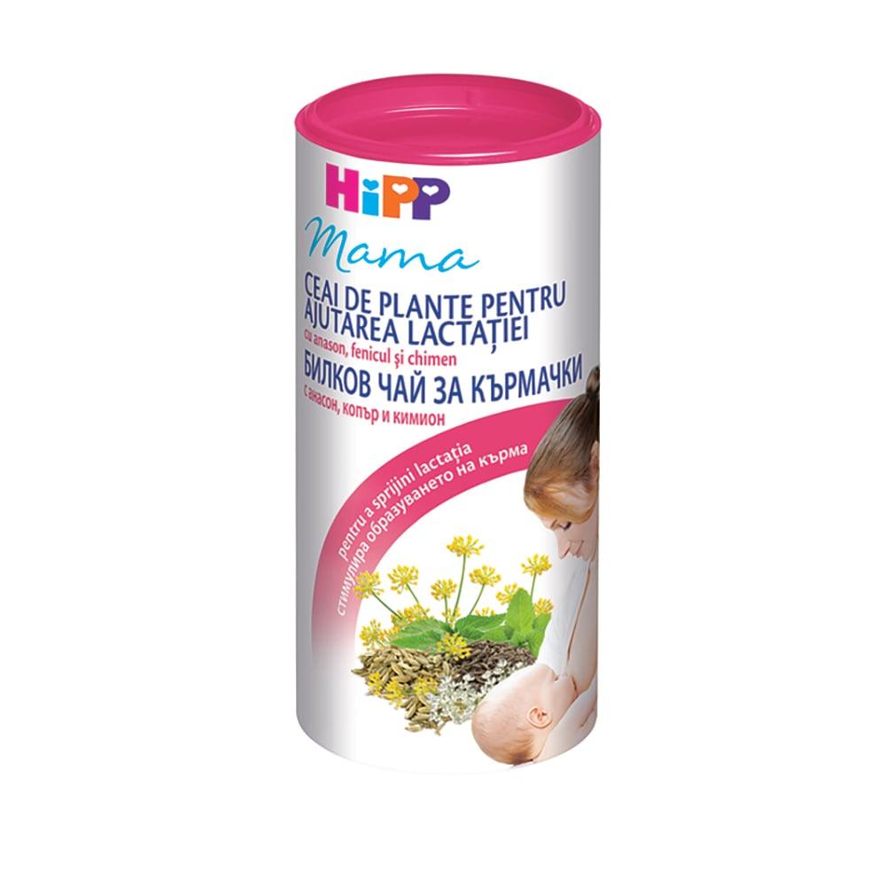 Ceai instant pentru stimularea lactatiei Hipp Mama, 200g imagine