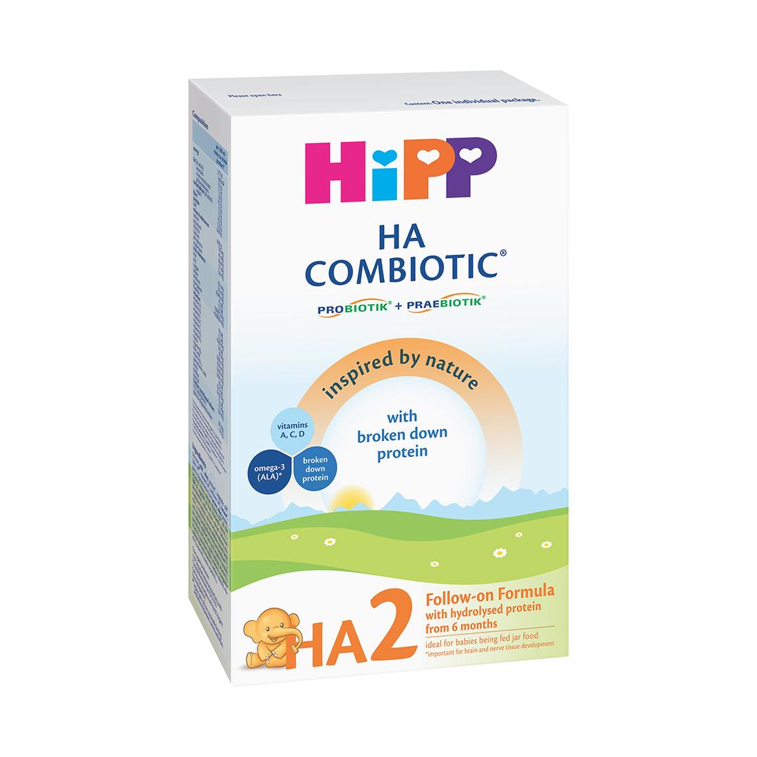 Lapte praf Hipp Combiotic HA 2, Hipp 350 g, 6 luni+ imagine