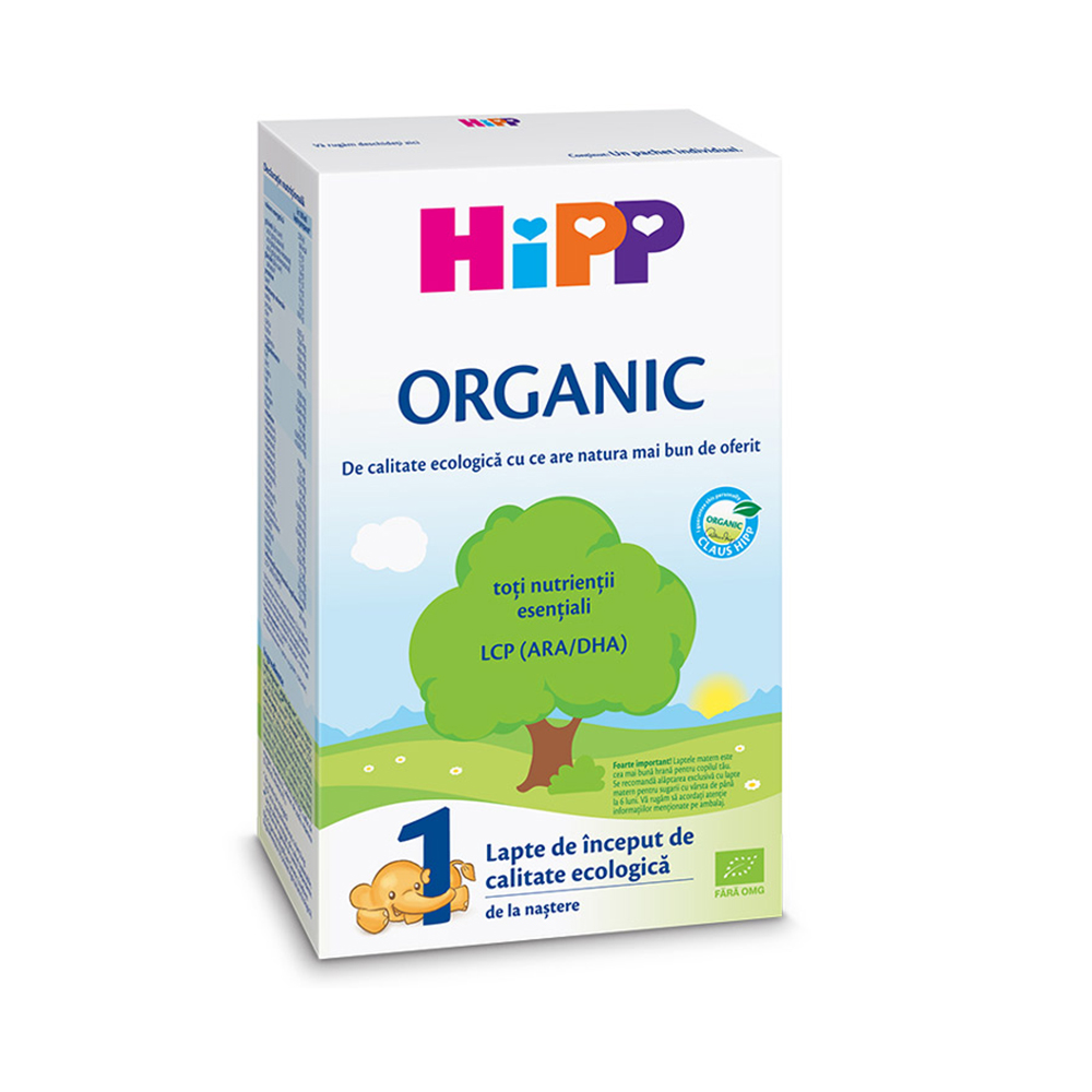 Lapte de inceput organic Hipp 1, 300g