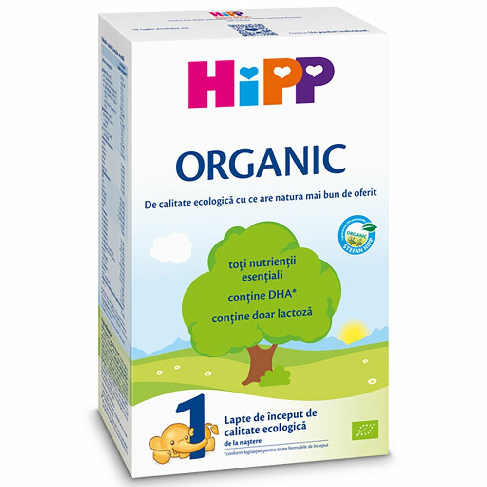 Lapte de inceput organic Hipp 1, 300g imagine 2021