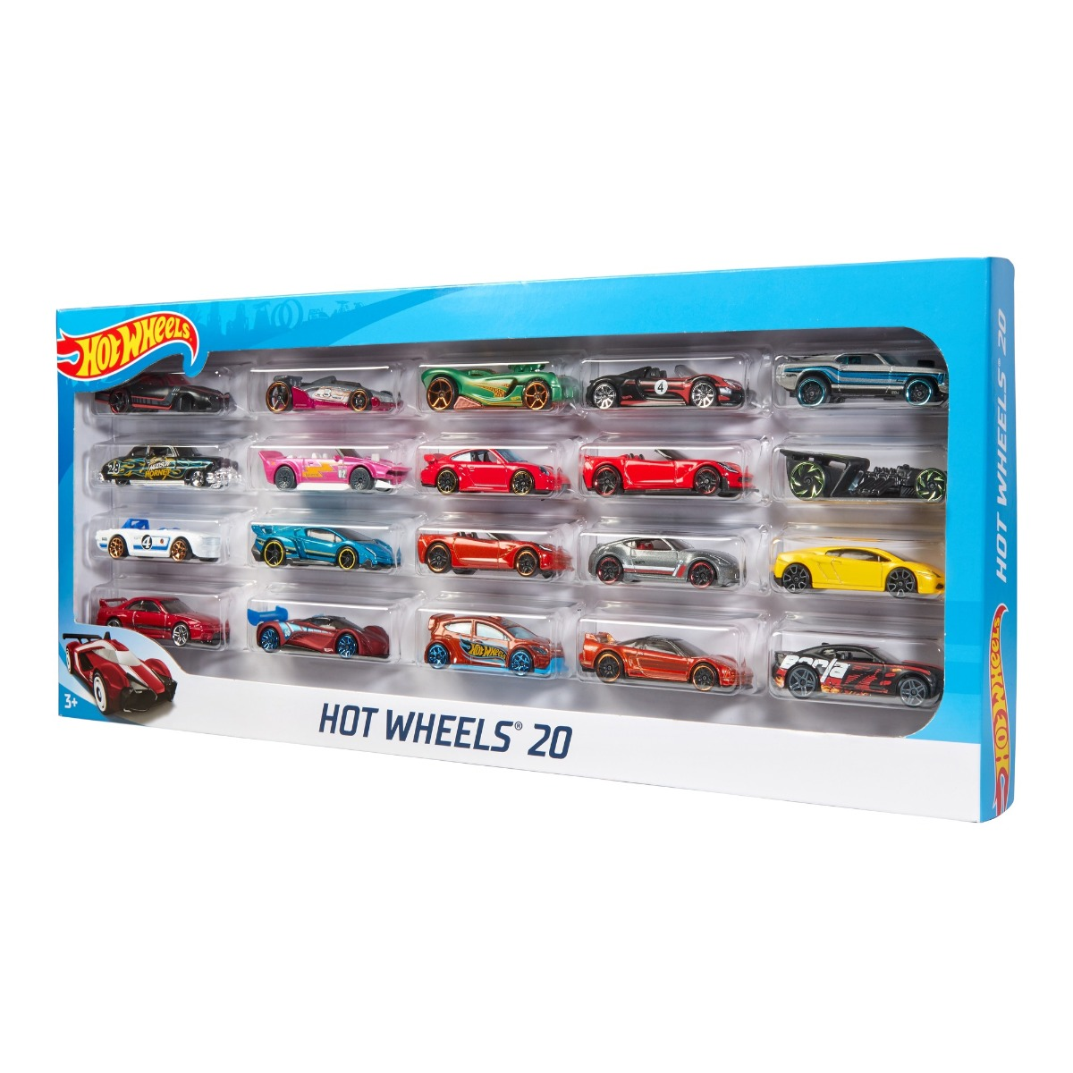 Set 20 de masinute Hot Wheels 1:64