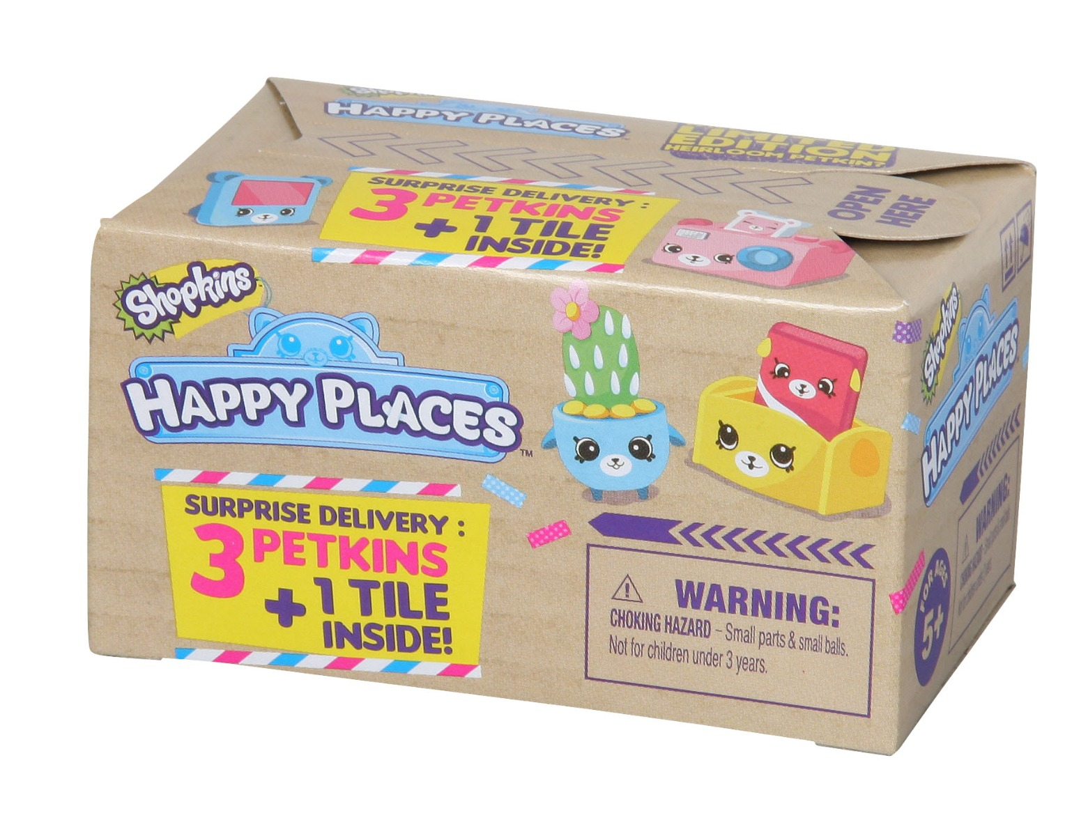 Happy places Shopkins - Pachet surpriza Seria 1