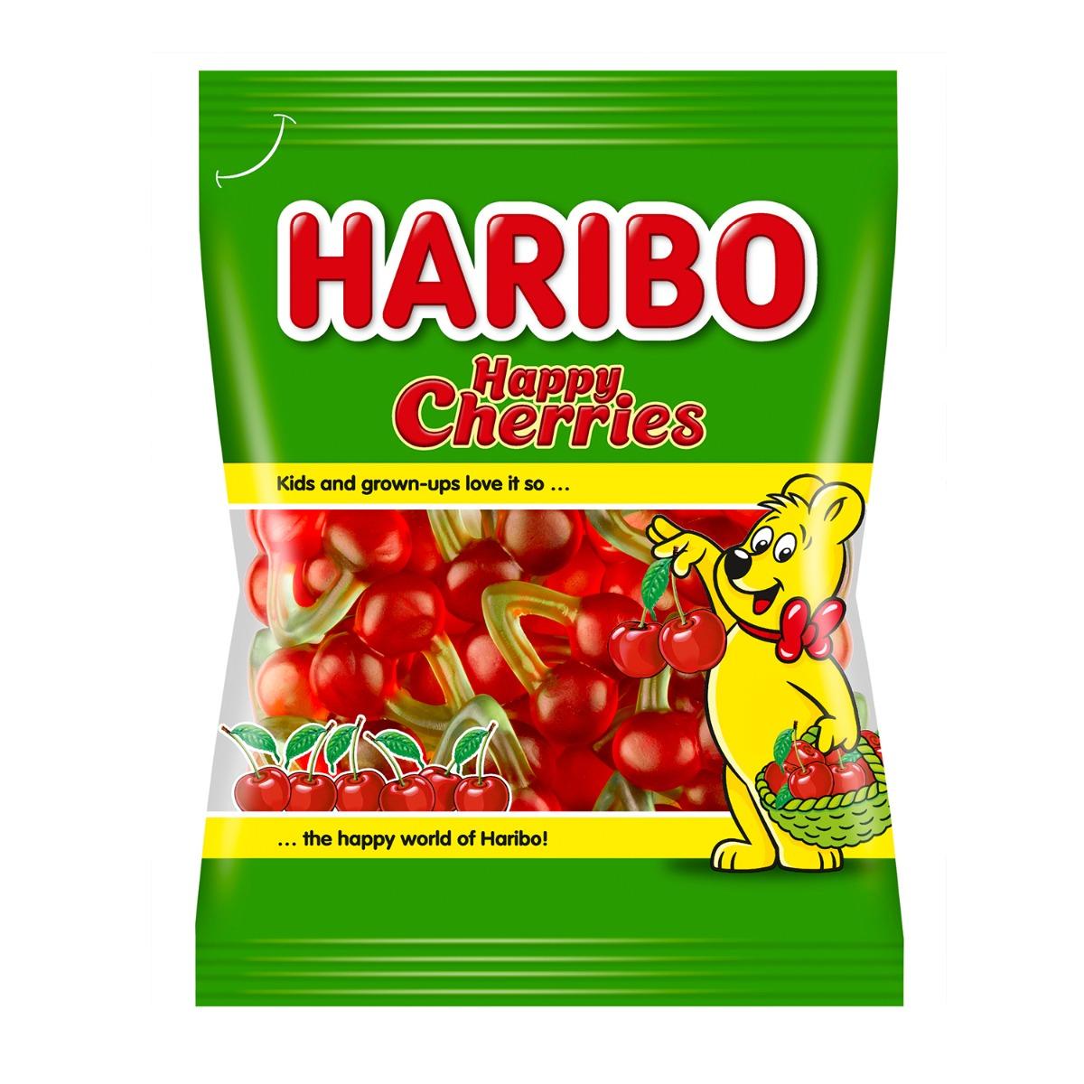 Jeleuri Haribo Happy Cherries, 200 g imagine