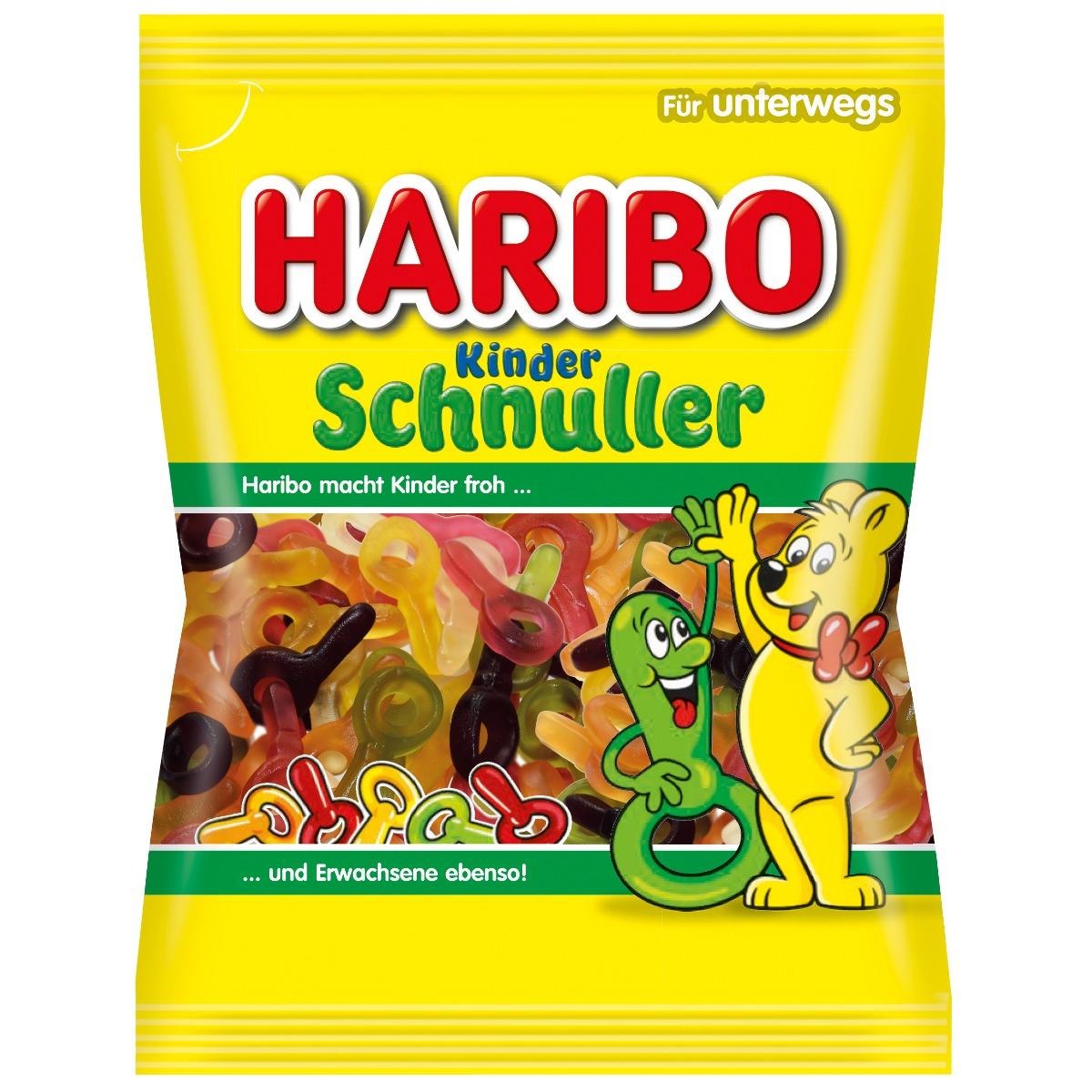 Jeleuri Haribo Schnuller, 100 g imagine
