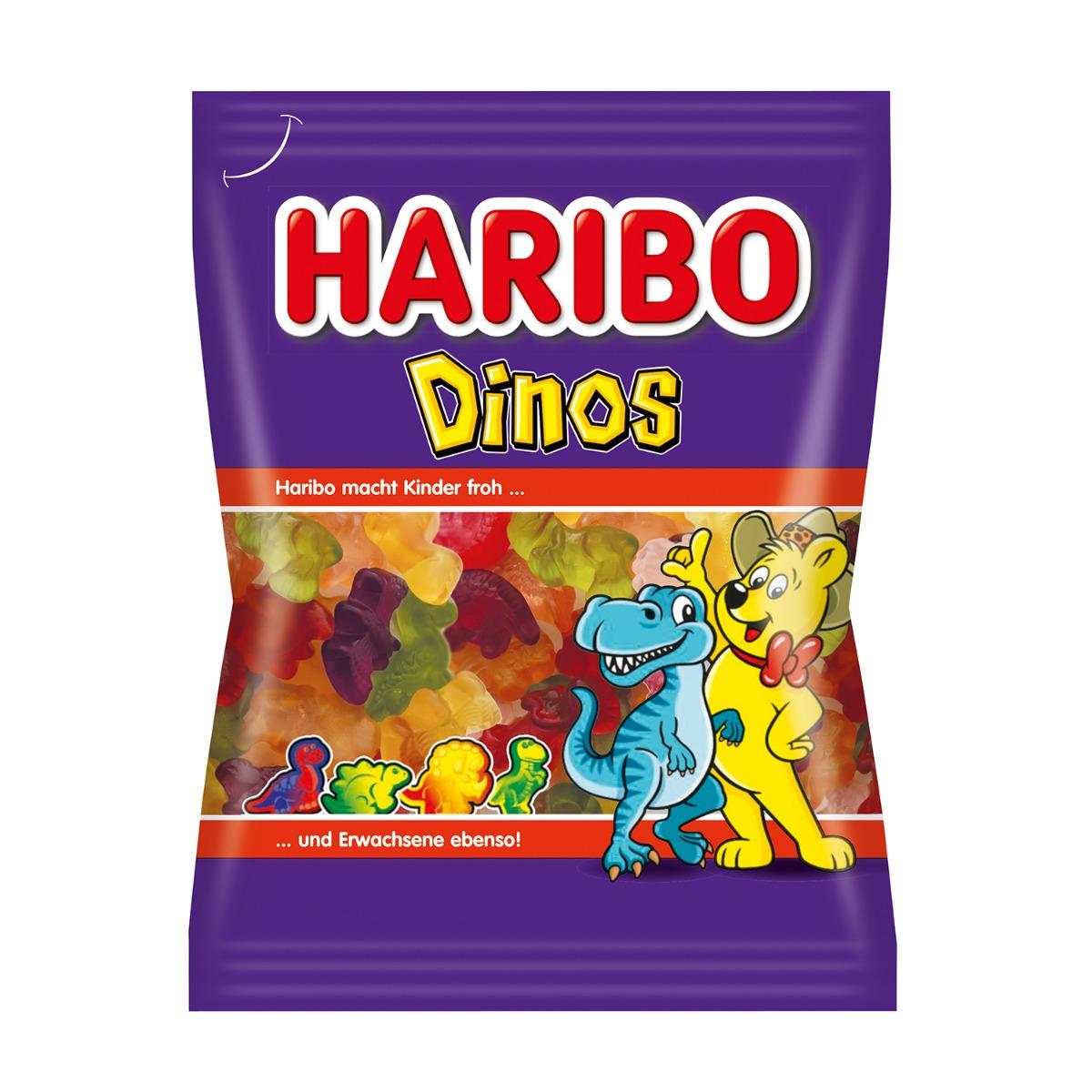 Jeleuri Haribo Dinos, 200 g imagine