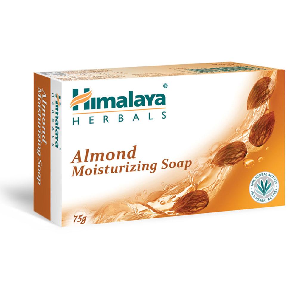 Sapun solid hranitor cu migdale Himalaya, 75 g imagine