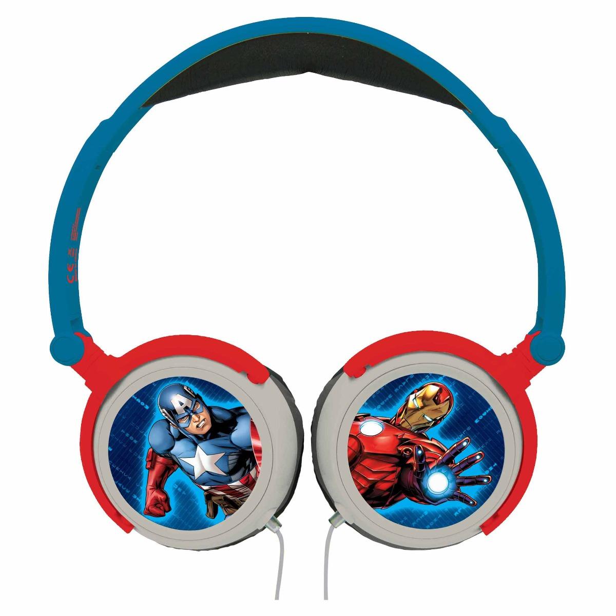 Casti audio cu fir pliabile, Avengers