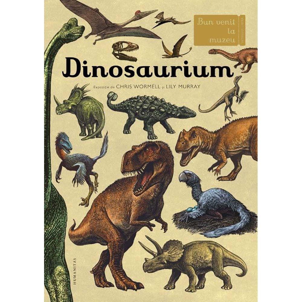 Carte Editura Humanitas, Dinosaurium, Lily Murray