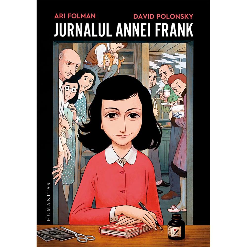 Carte Editura Humanitas, Jurnalul Annei Frank (roman grafic), Ari Folman