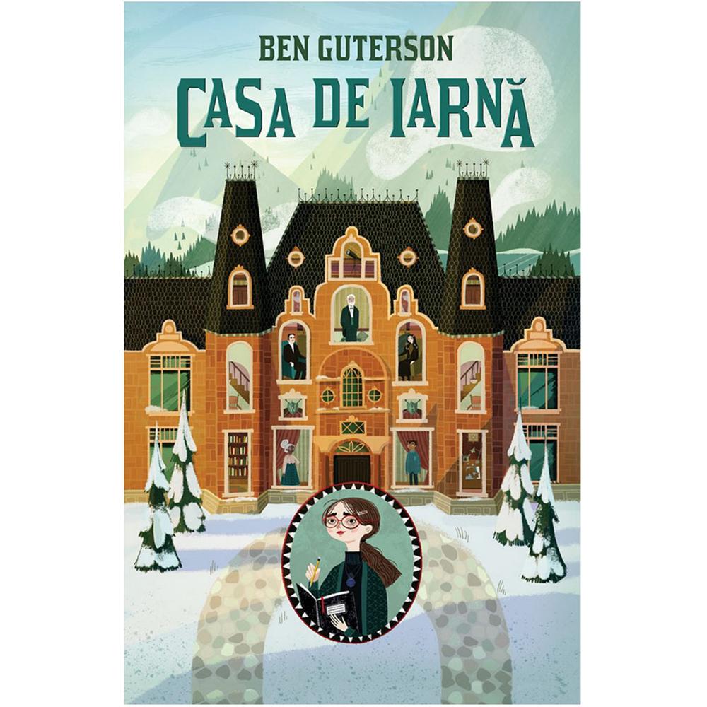 Carte Editura Humanitas, Casa de iarna, Ben Guterson