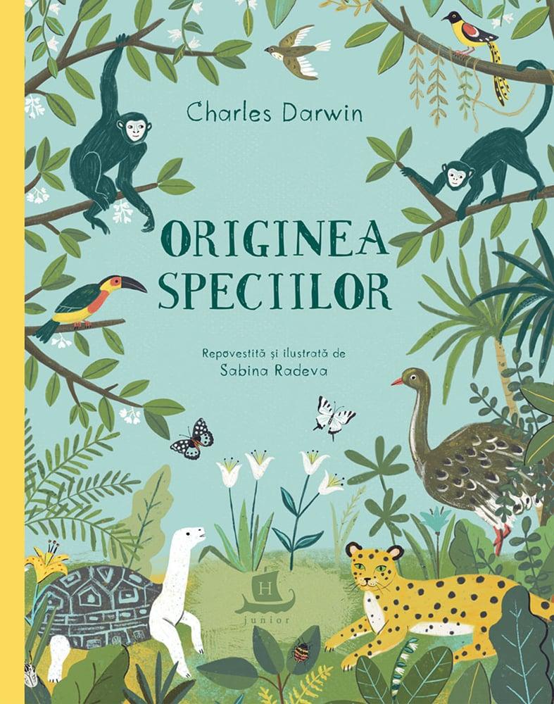 Carte Editura Humanitas, Originea speciilor, Sabina Radeva