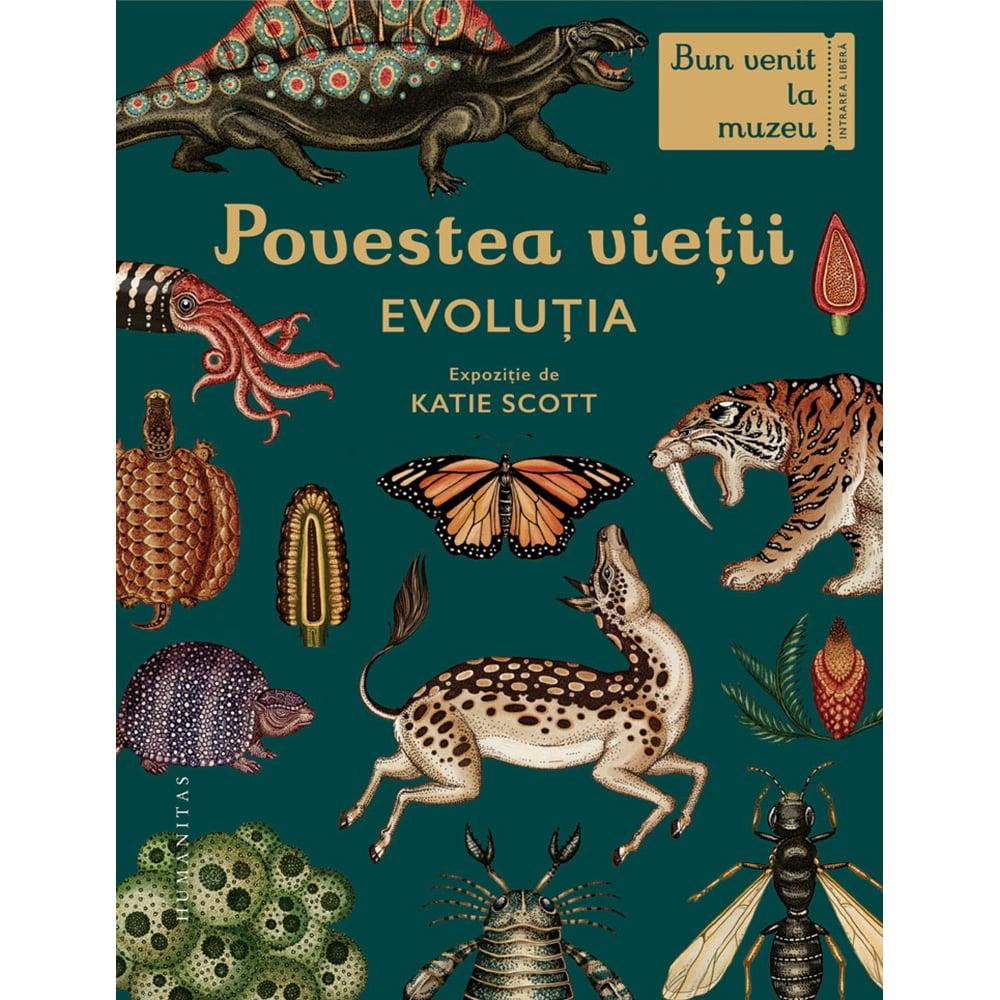 Carte Editura Humanitas, Povestea vietii: Evolutia, Fiona Munro