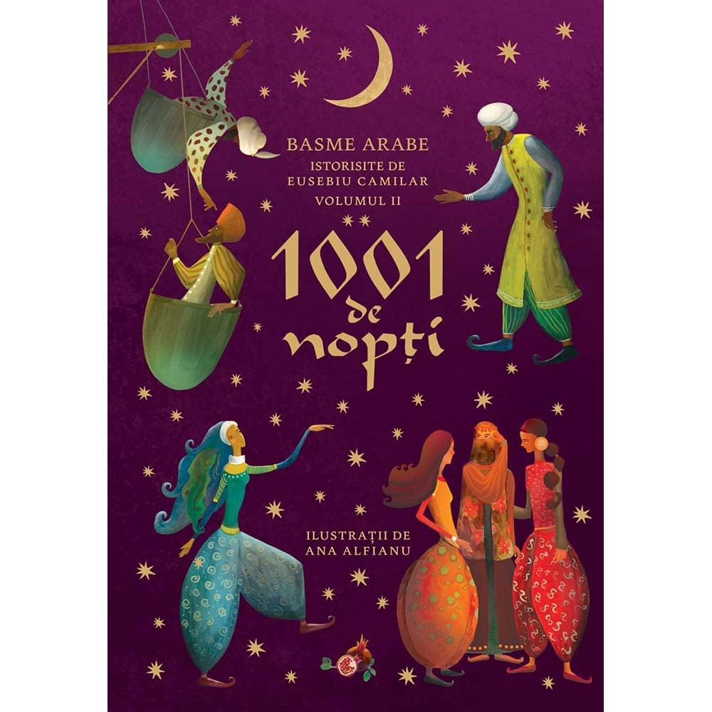 Carte Editura Humanitas, 1001 de nopti Vol. 2, Eusebiu Camilar