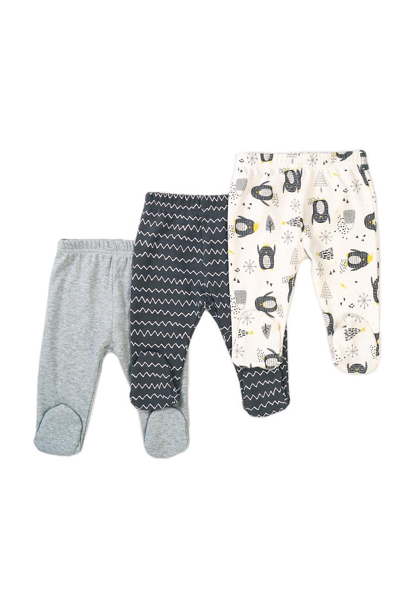 Set 3 pantaloni bebe Minoti Baby, Hug