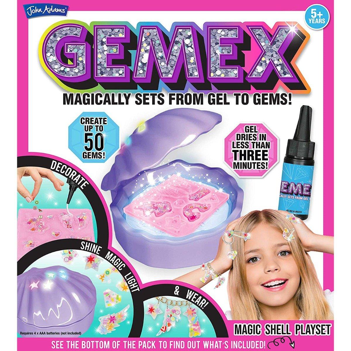 Set de creatie Gemex, Bijuterii cu scoica magica