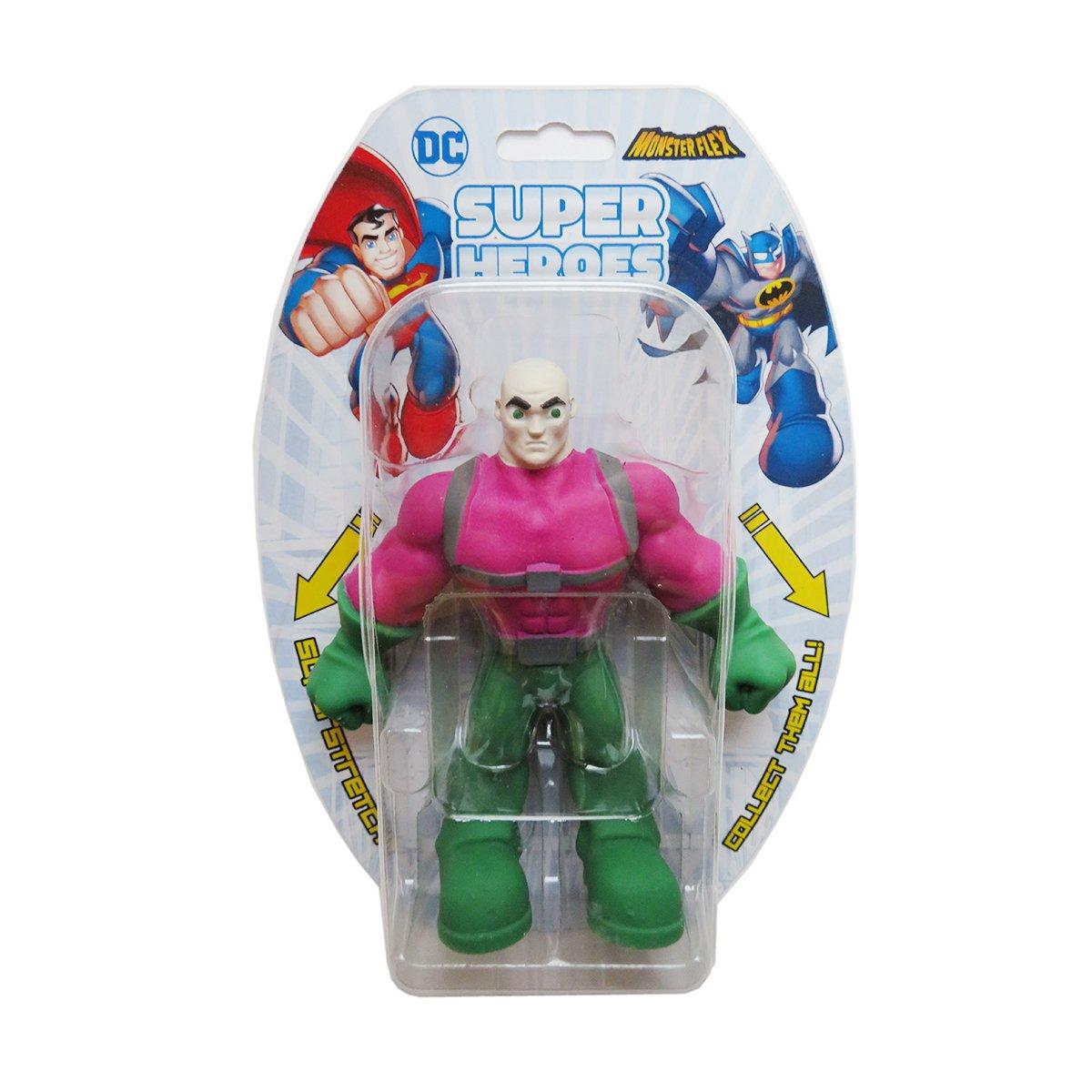 Figurina flexibila Monster Flex, DC Super Heroes, Lex Luthor