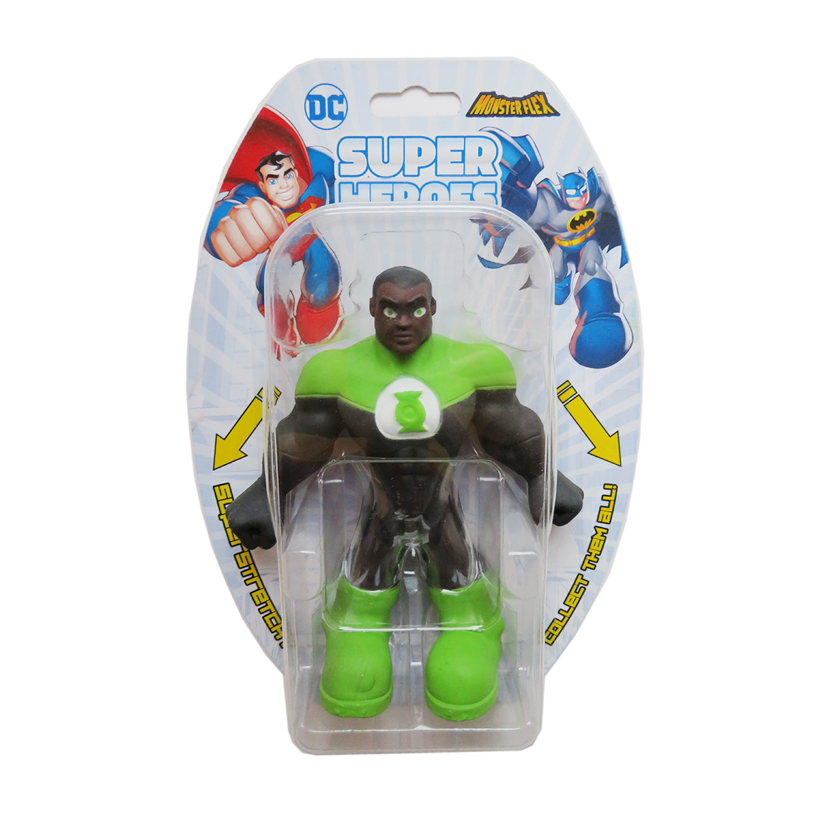 Figurina flexibila Monster Flex, DC Super Heroes, Green Lantern