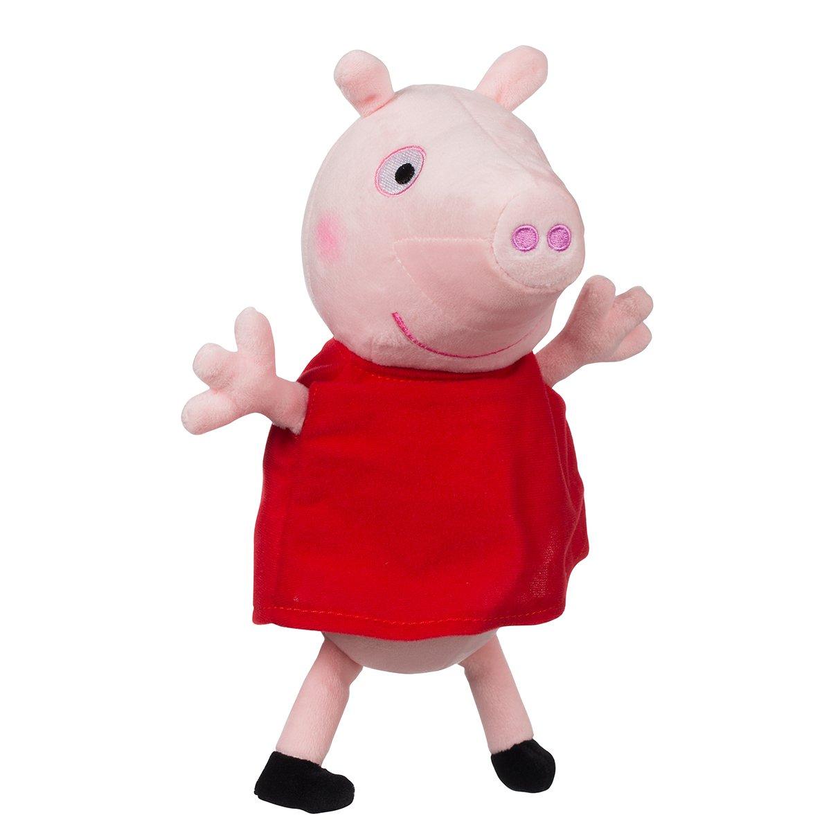 Jucarie de plus Peppa Pig, Peppa, 25 cm