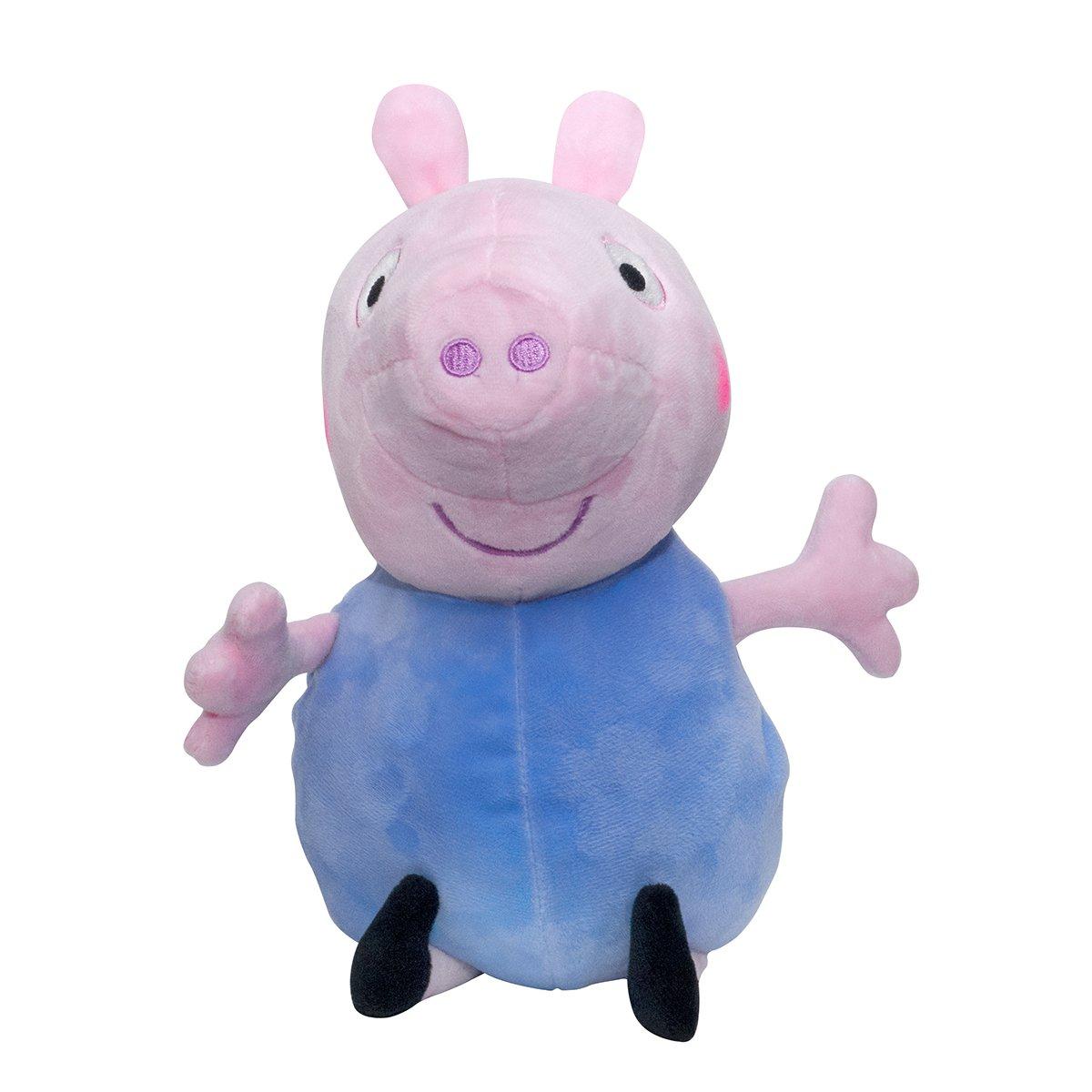 Jucarie de plus Peppa Pig, George, 25 cm