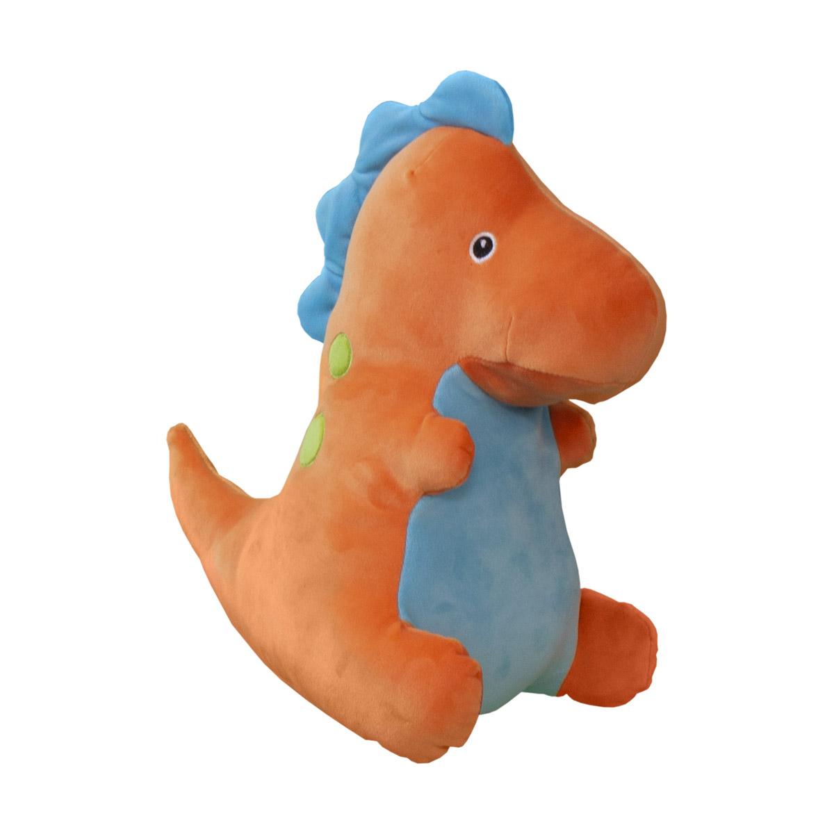 Jucarie de plus Noriel, Dinozaur, Portocaliu, 30 cm