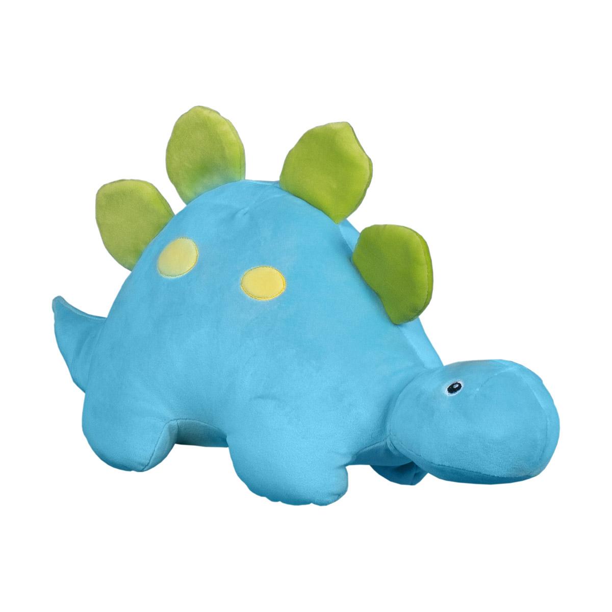 Jucarie de plus Noriel, Dinozaur, Albastru, 30 cm