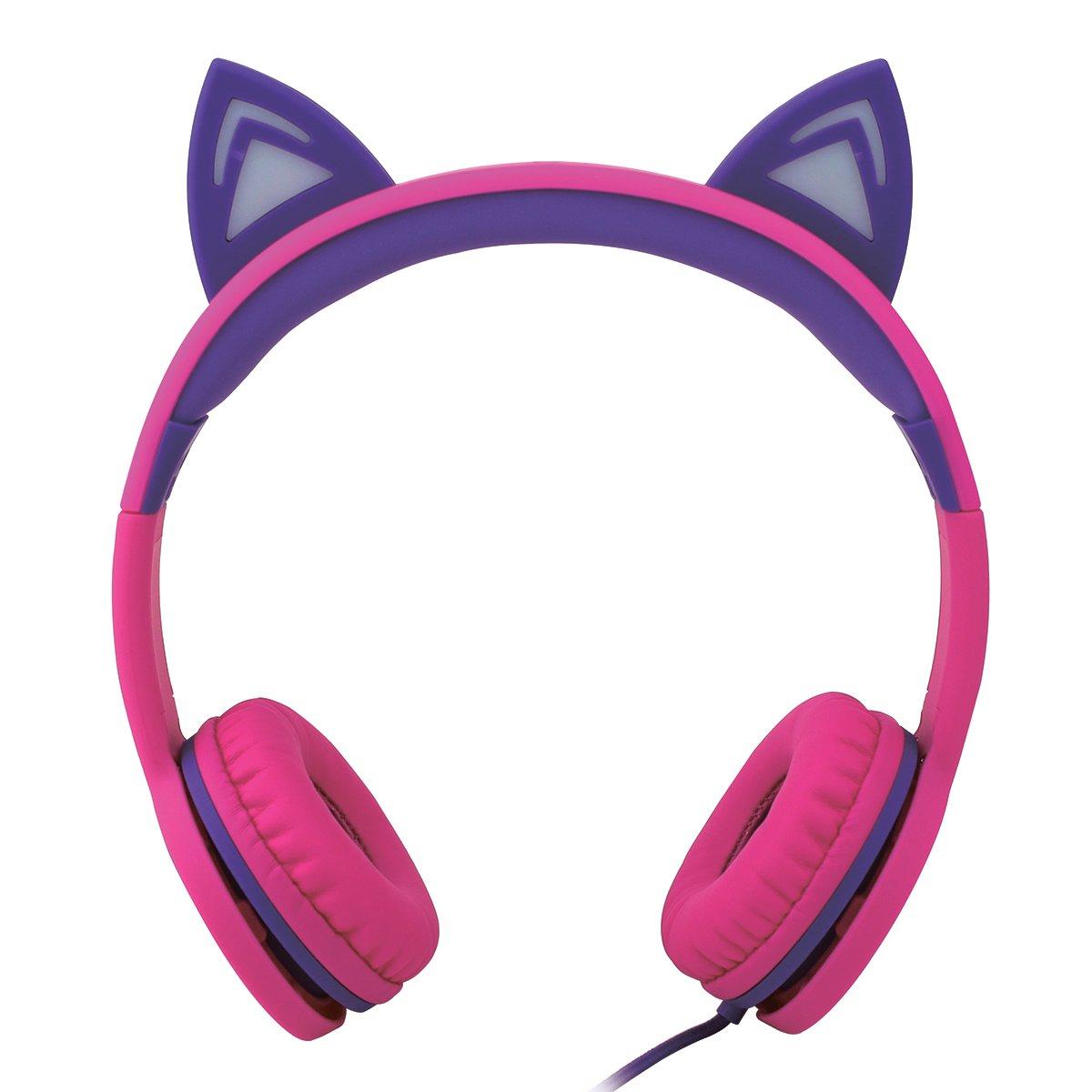 Casti audio cu urechi luminoase Noriel On-Ear