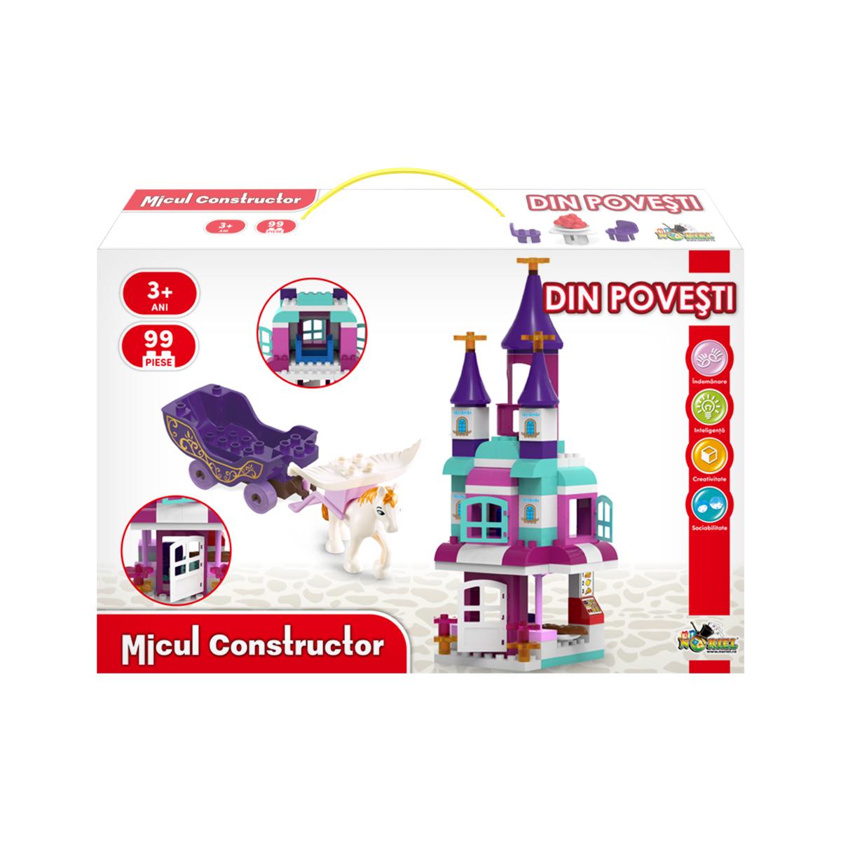 Jucarie de constructie Din Povesti, Micul Constructor