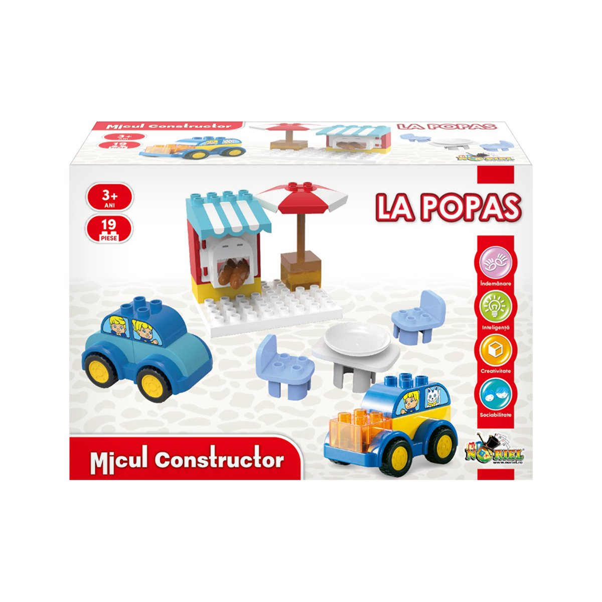 Jucarie de constructie Micul Constructor, La Popas