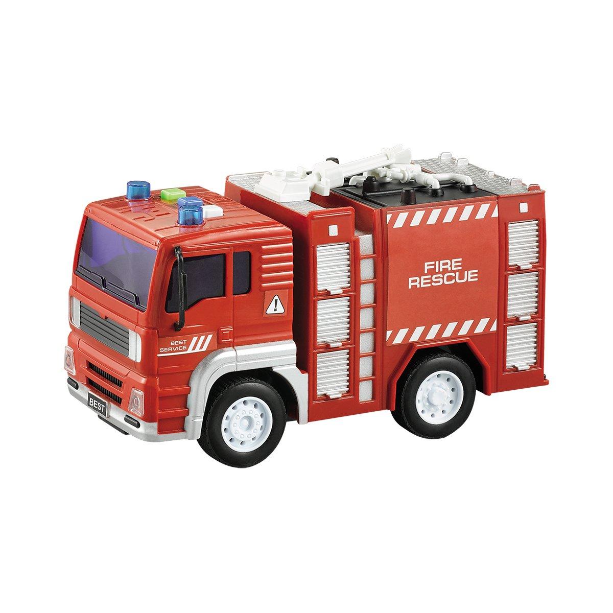 Masina de pompieri cu lumini si sunete Cool Machines